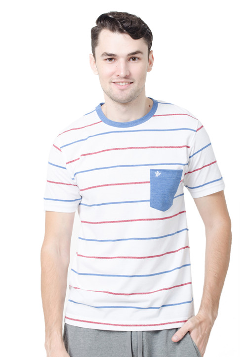 Osella ManOsella Man T-Shirt Stripe White