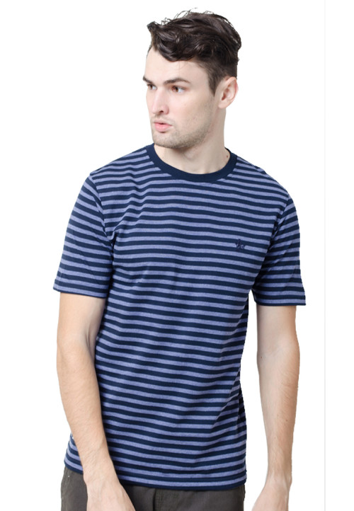 Osella ManOsella Man T-Shirt Stripe Navy