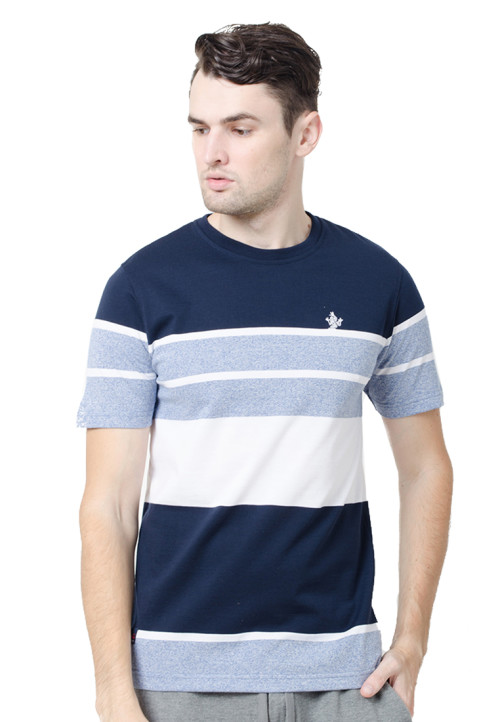 Osella ManOsella Man T-Shirt Stripe Navy 1