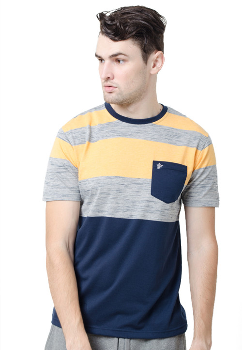 Osella ManOsella Man T-Shirt Stripe Misty