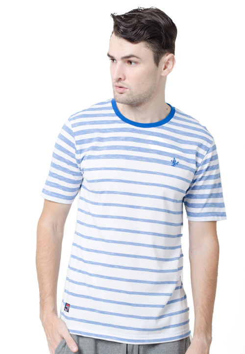 Osella ManOsella Man T-Shirt Stripe Blue