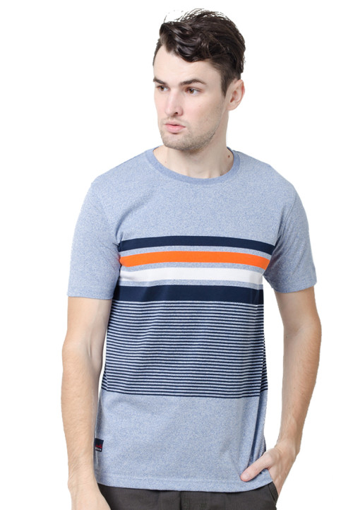 Osella ManOsella Man T-Shirt Stripe Blue 1