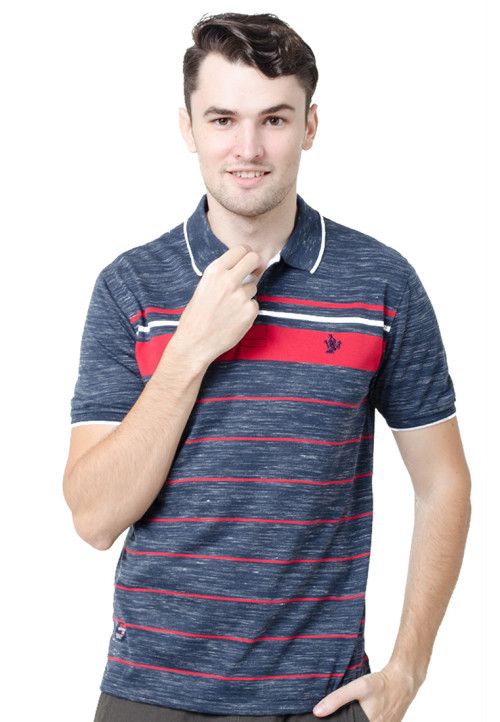 Osella ManOsella Man Polo Shirt Stripe Navy 3