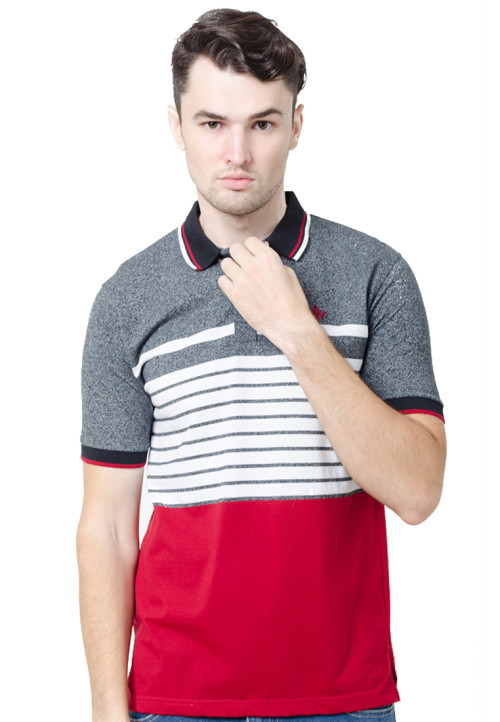 Osella ManOsella Man Polo Shirt Stripe Black