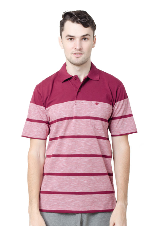 Arnett Polo Shirt Fashion Burgundy