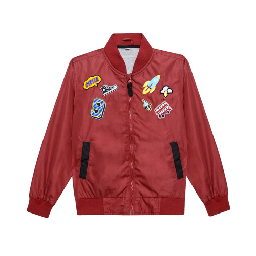 Osella Kids JACKET APL EMBRO APOLLO L/S Red