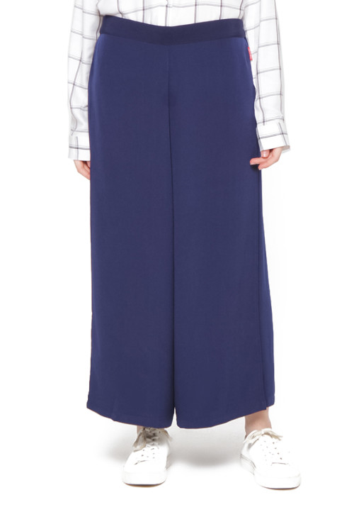 Osella Woman Culotte 7/8 Double Layer Col.Navy