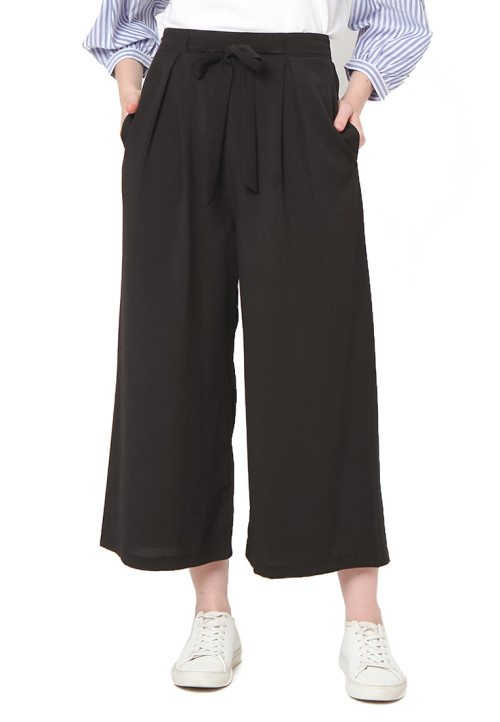 Osella Woman Pants cullot long with black