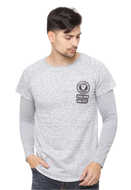 Osella Man T-shirt 2 layer baby terry Misty 71