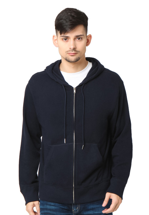 Osella Man Jacket Hoodie Bordir Authentic.Os.1987 Indigo