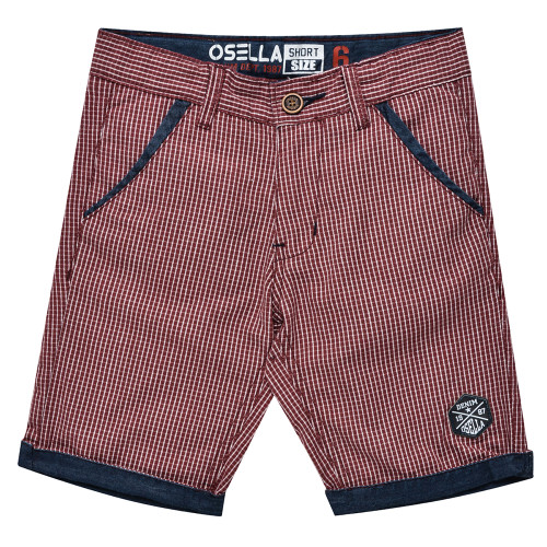 Osella Kids Pants Kotak Red S/S Red