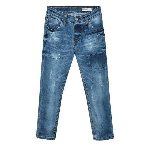Osella Kids Pants Long Denim Cobal Blue