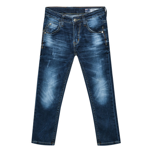 Osella Kids Pants Long Denim Blue Bird
