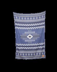 Boho Navy Blanket