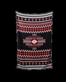 Boho Black Blanket