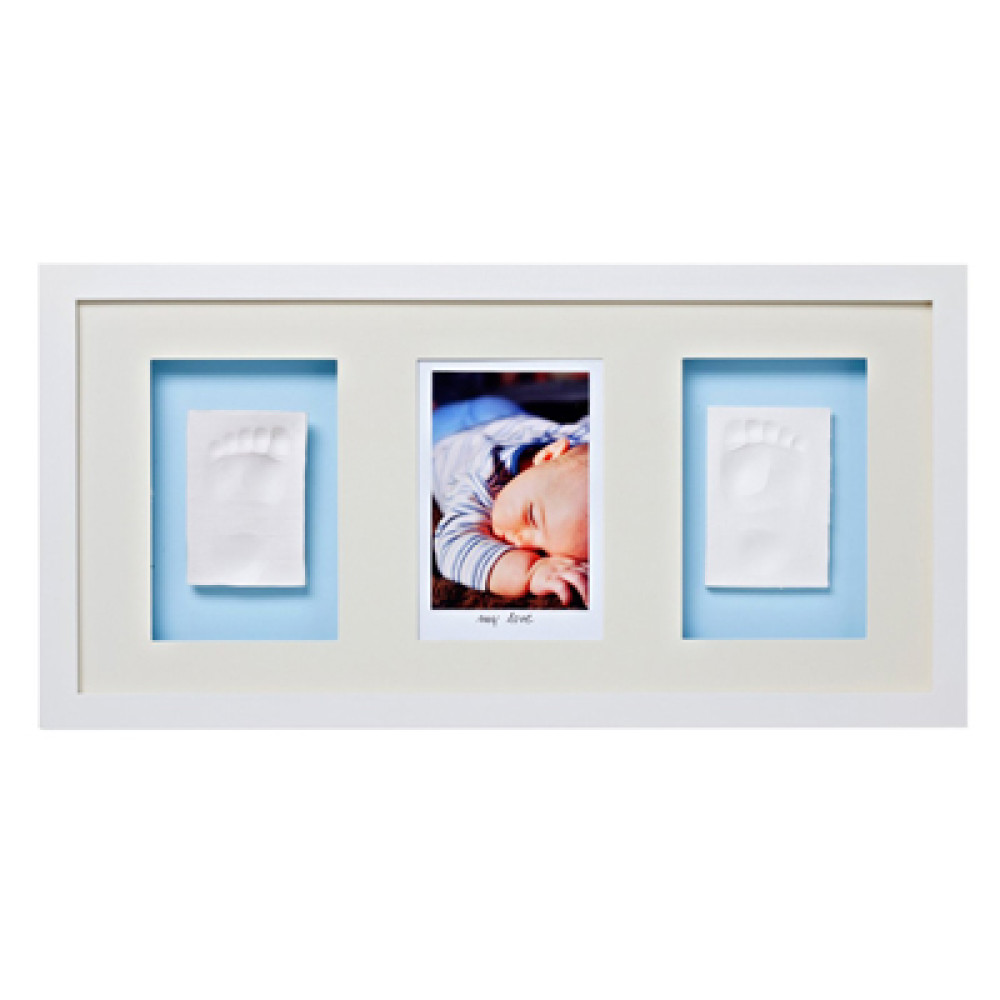 Baby Memory Prints Trio Frame - White