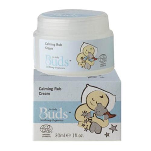 Buds Baby Soothing Organics Calming Rub Cream
