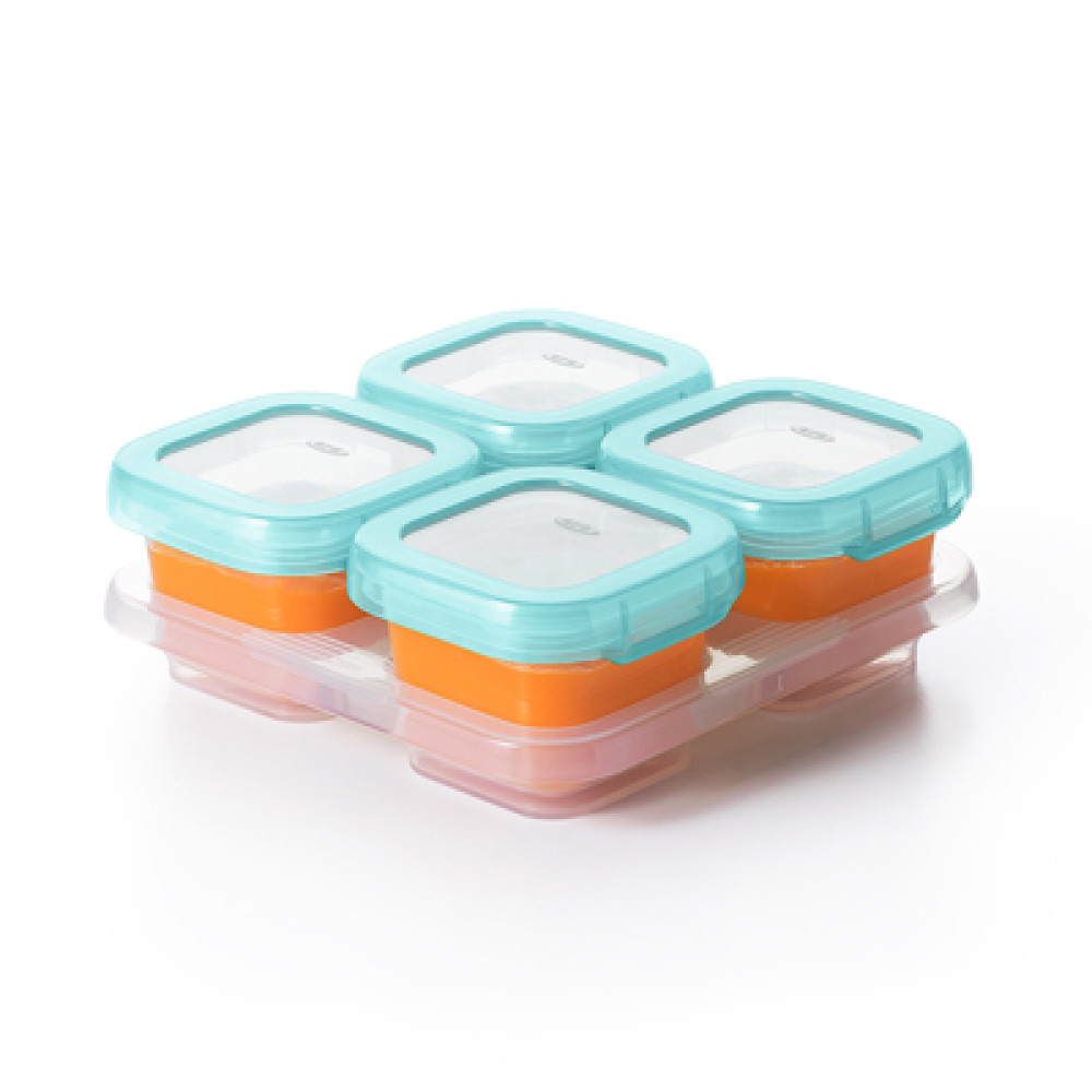 Home / Eating / OXO Tot Baby Blocks Freezer Storage Containers (4oz / 120  Ml)   Aqua