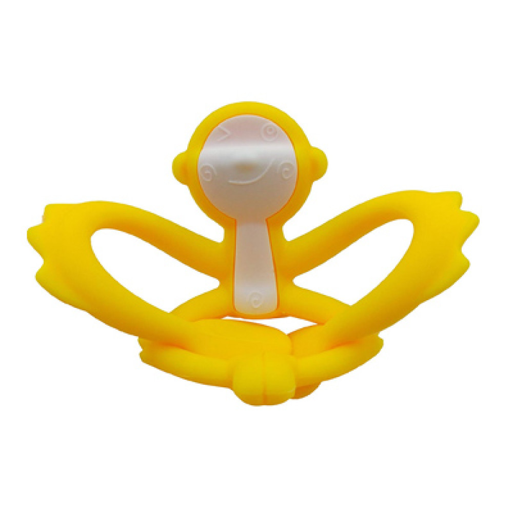 Mombella Hugging Monkey Teether Toy Yellow Ange Baby Home Playing