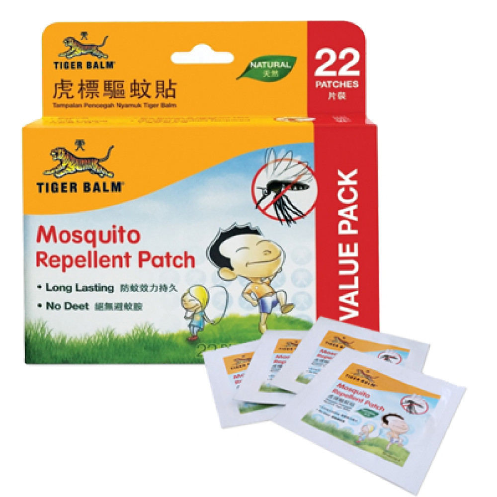Tiger Balm Mosquito Repellent Patch 22pcs