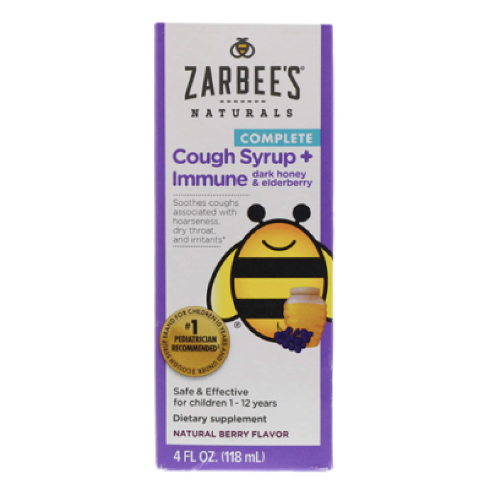 Zarbee S Naturals Children S Complete Cough Syrup Immune