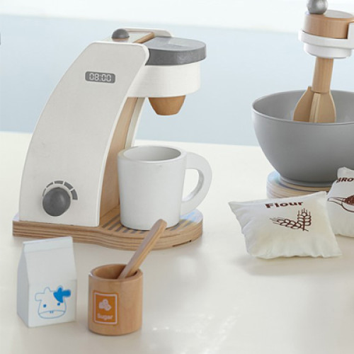 Pottery Barn Kids Wooden Appliances Coffee Maker