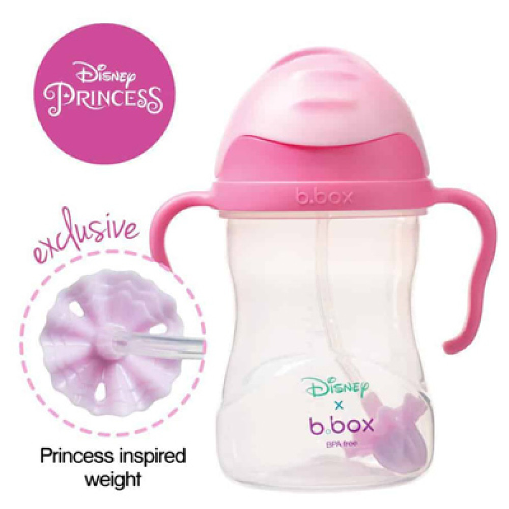 B Box Sippy Cup 240ml Disney Aurora