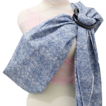 Baby Ring Sling - Tribal Denim