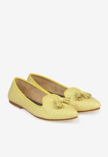 Pointy Python Yellow Tesel