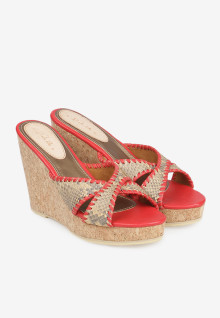 Selop Moccasin Red