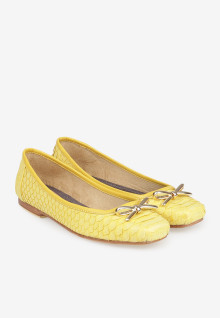 Python Yellow Square Gold