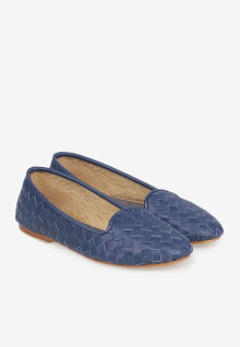 Melisa Wicker Blue Cobalt