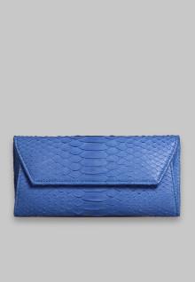 Wrap Wallet Blue Python