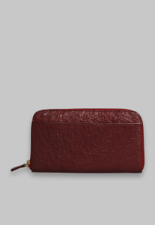 Rose 2 Sekat Maroon Ostrich