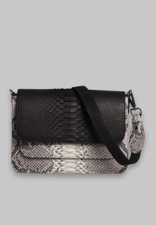 Kiki Bag White Black