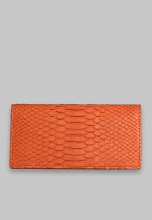 Wallet long Car Orange