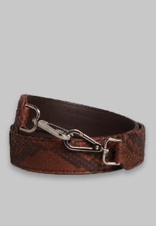 Strap Python Brown