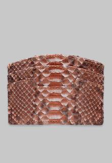 Card Holder Python Salmon