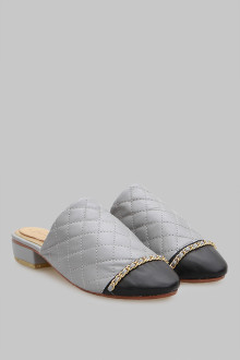 Mules Stichis Grey