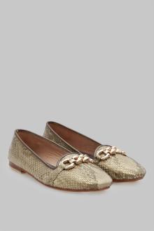 Melisa Python Gold Batik Belt