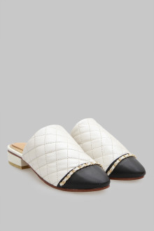 Mules Stichis White