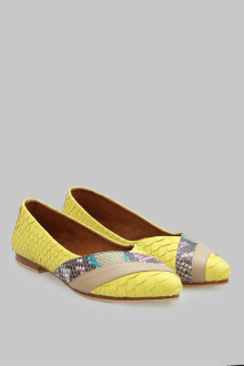 Pointy Python 3 Lyr Yellow