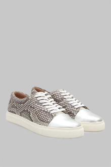 Sneakers Pyhon White Silver