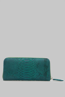 DOMPET ROSE 3 SEKAT SMALL PYTHON GREEN