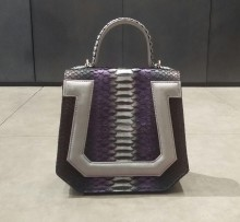 Bag Omega Black Gradasi Purple