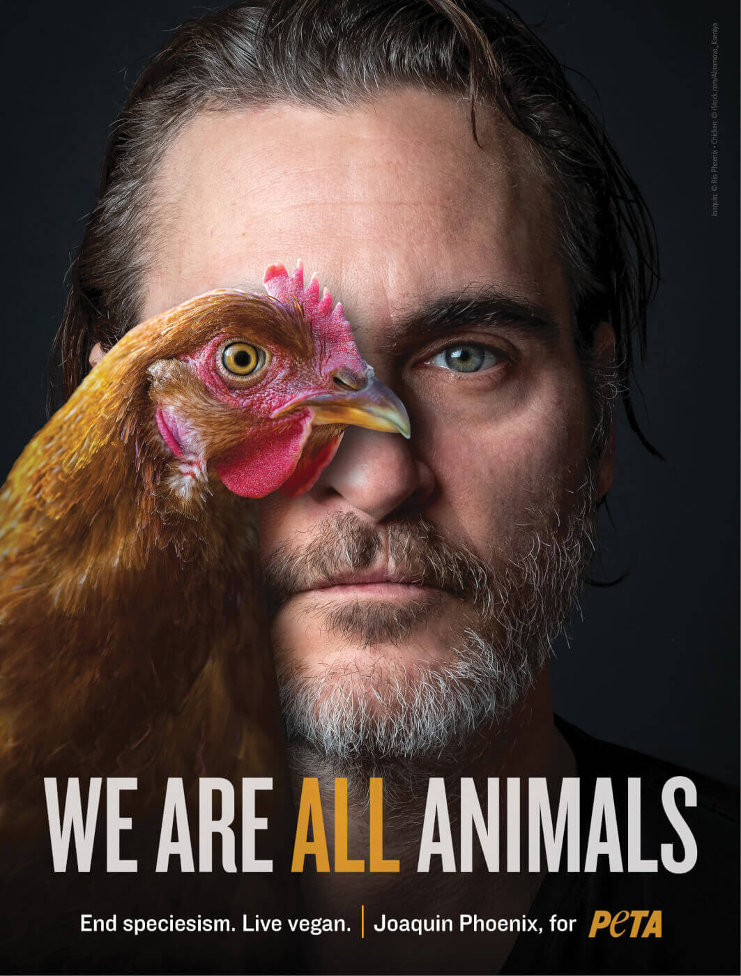 Tokoh Vegan Bulan Juli : Joaquin Phoenix