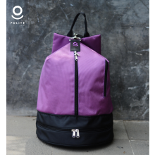 Backpack Purple Black