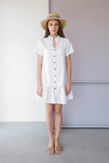 KAIA in White | Dress