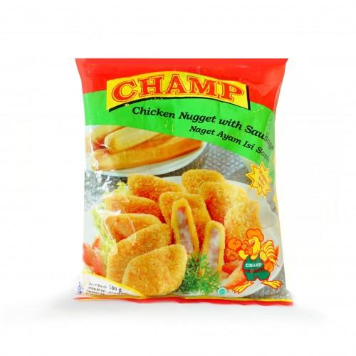 Nugget Champ Berbahaya: Champ Nugget Sosis 500 G