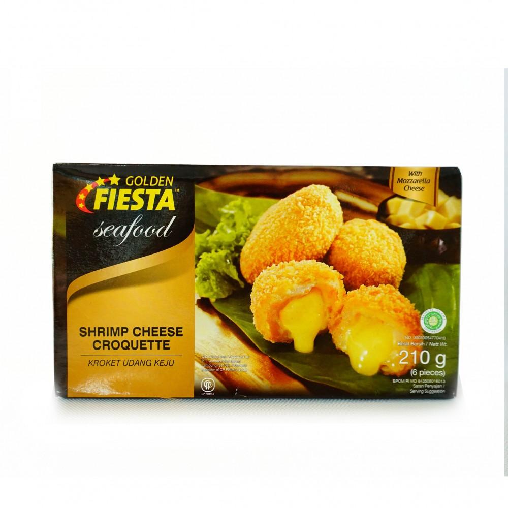 Golden Fiesta Sf S Cheese Croquette 210 Gr Champ Chicken Nugget 500gr